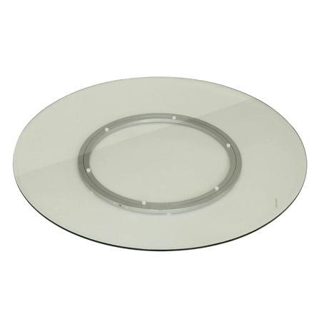 plateau tournant en verre pour table