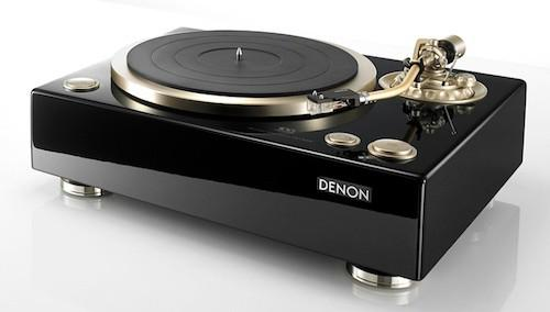 platine vinyle avec ampli