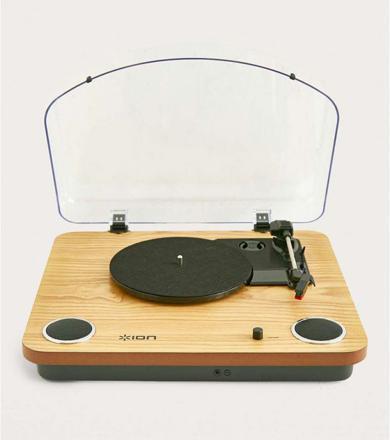 platine vinyle avec haut parleur