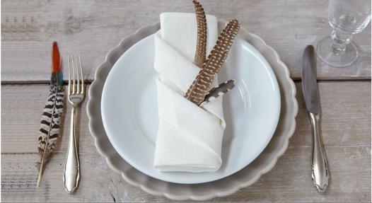 pliage de serviette en tissu facile