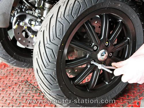 pneu scooter mp3
