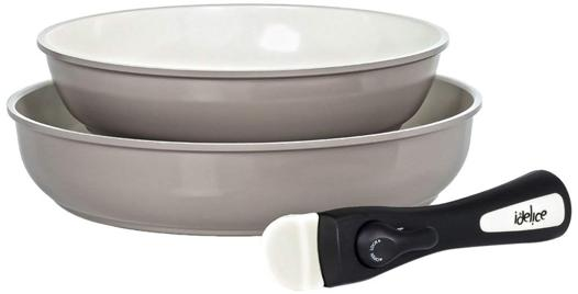 poele manche amovible induction ceramique