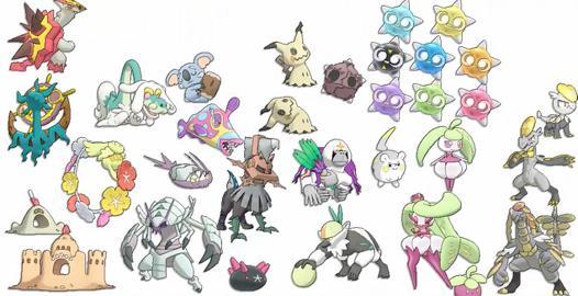 pokemon dans pokemon soleil