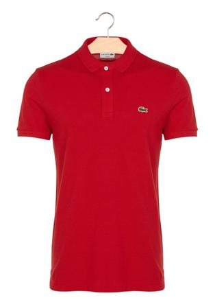 polo lacoste homme rouge