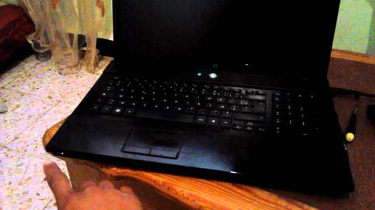 portable hp ecran noir