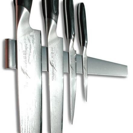 porte couteaux aimanté inox