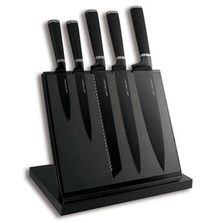 porte couteaux noir