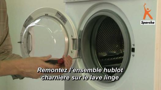 porte hublot machine a laver