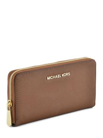 portefeuille michael kors marron