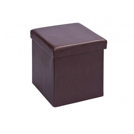 pouf coffre pliant