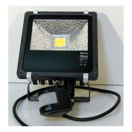 projecteur led avec radar