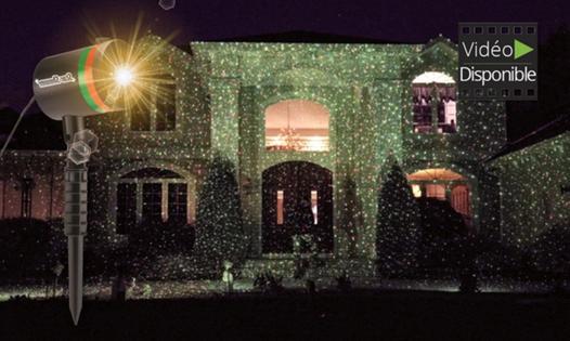 projecteur maison noel