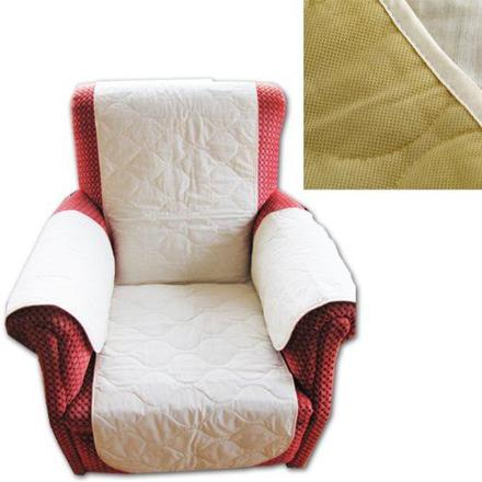 protection accoudoirs fauteuil cuir