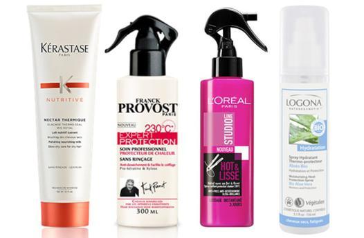 protection cheveux lisseur