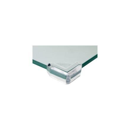 protege coin de table en verre