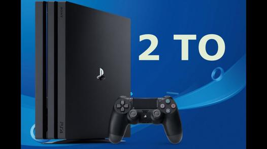 ps4 pro 2to