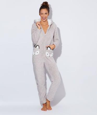 pyjama femme en peluche