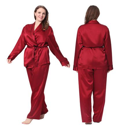 pyjama satin femme grande taille