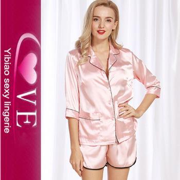 pyjama sexy satin