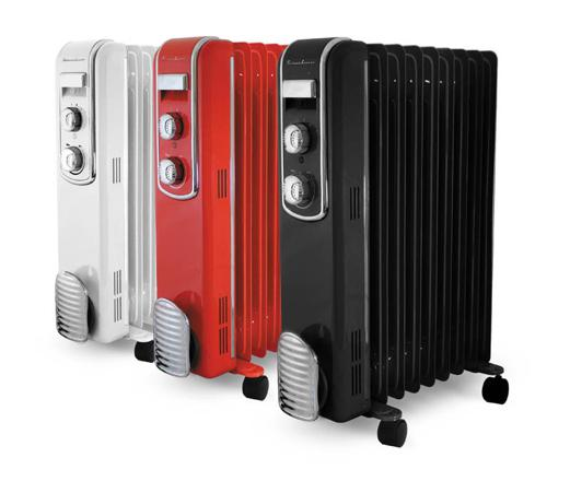 radiateur bain d'huile design