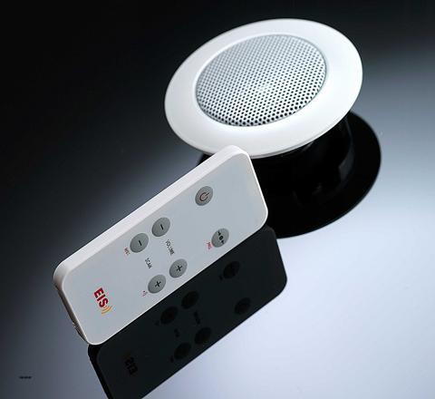radio dans salle de bain