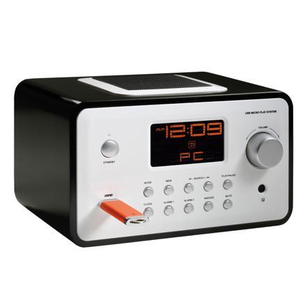 radio reveil avec prise usb