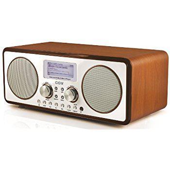 radio reveil design retro