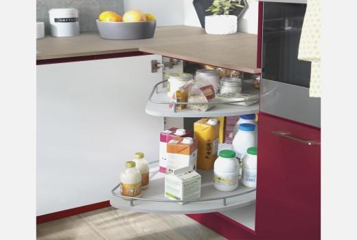 rangement meuble angle cuisine