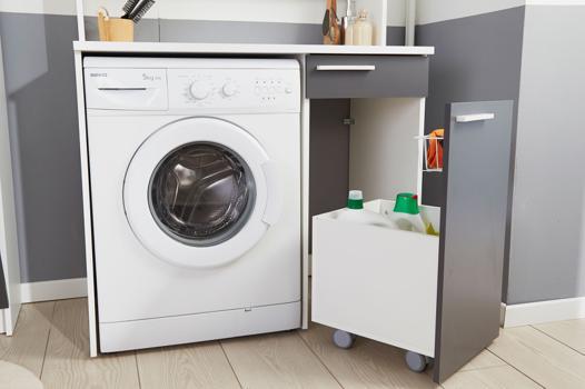 rangement sur machine a laver