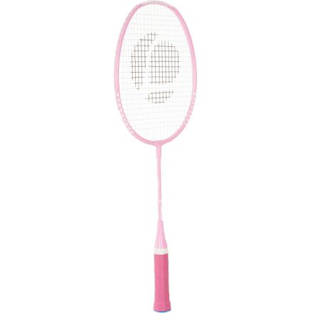 raquette badminton rose
