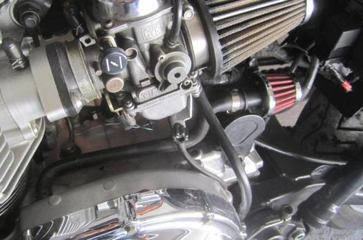 reniflard d'huile moto