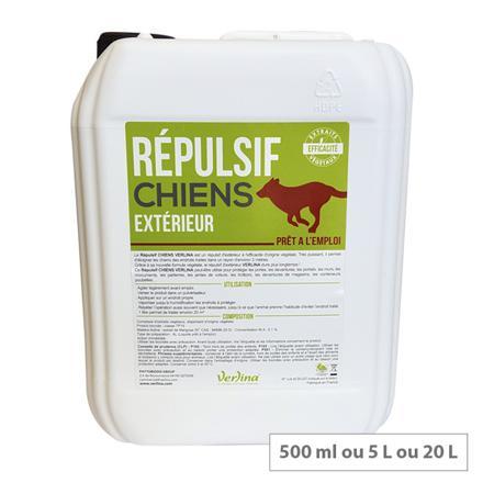 repulsif chien exterieur efficace