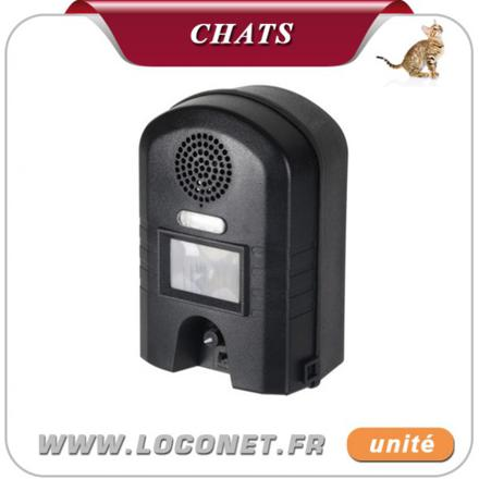 repulsif ultrason pour chat