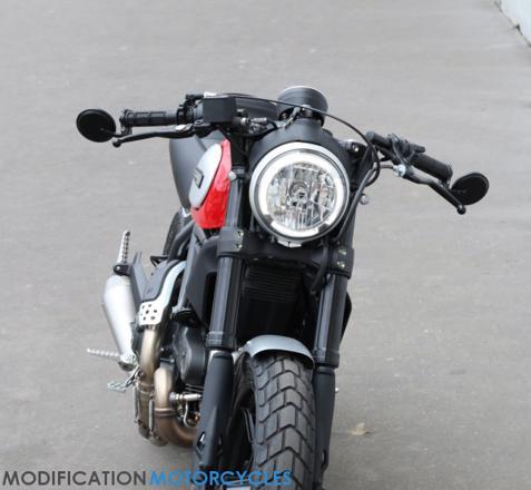 retroviseur de guidon moto