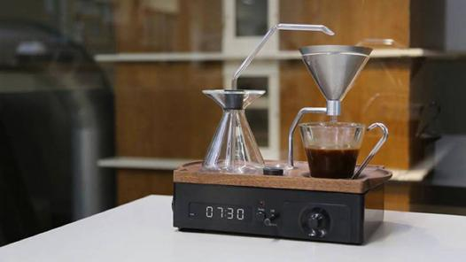 reveil machine a café
