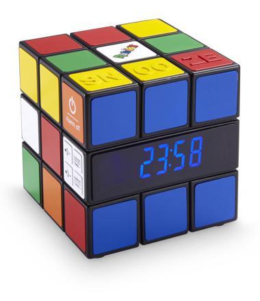 réveil rubik's cube