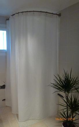 rideau douche hauteur 220