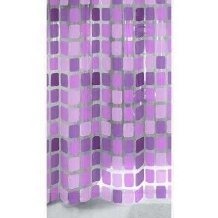 rideau douche violet