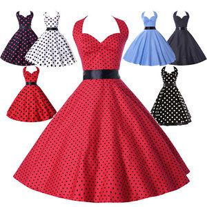 robe année 60 pin up