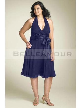 robe bleu grande taille