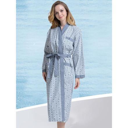 robe de chambre coton femme
