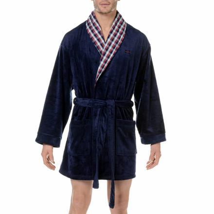 robe de chambre courte pour homme