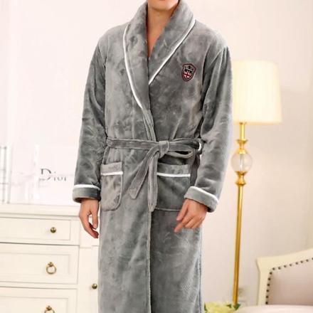 robe de chambre homme en polaire