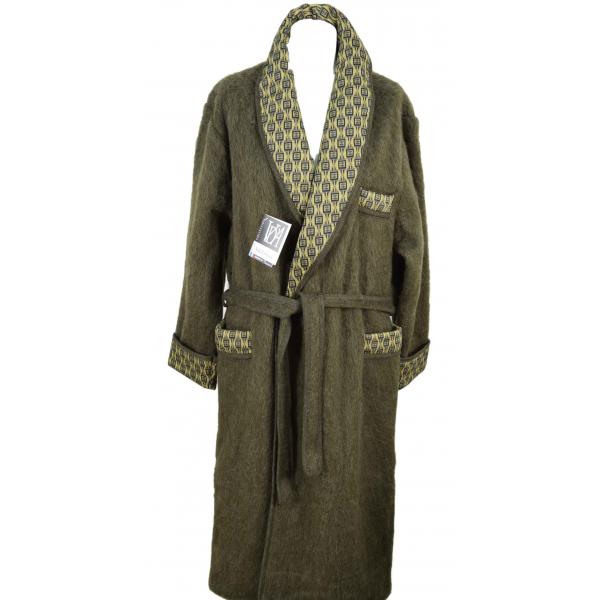 robe de chambre laine homme