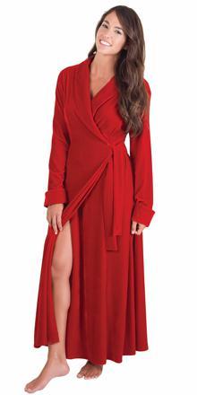 robe de chambre longue pour femme