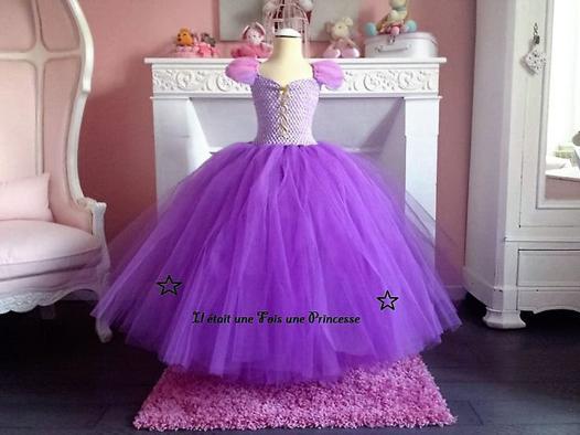 robe de princesse 10 ans