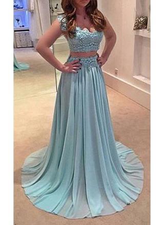 robe de soiree deux pieces