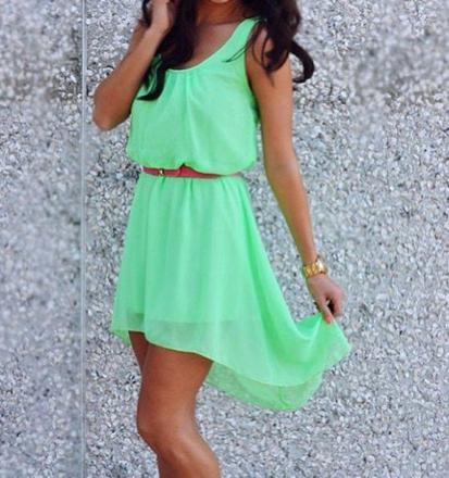 robe d'été courte ado