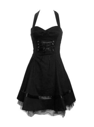 robe gothique courte