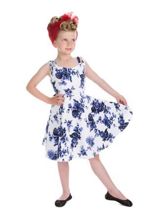 robe vintage fille